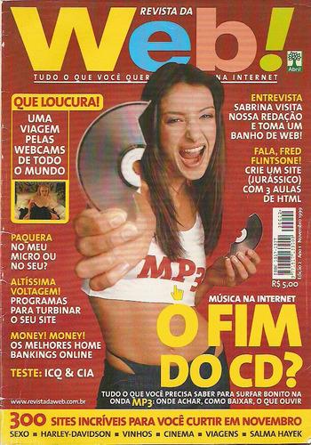 Revista Web ! - 2 - Nov 1999 - Fim Do Cd - Sabrina Parlatore