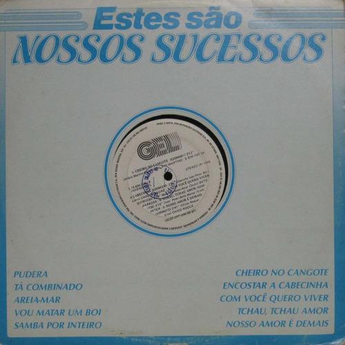 Estes São Nossos Sucessos Lp Vinil Continental 1986 Original