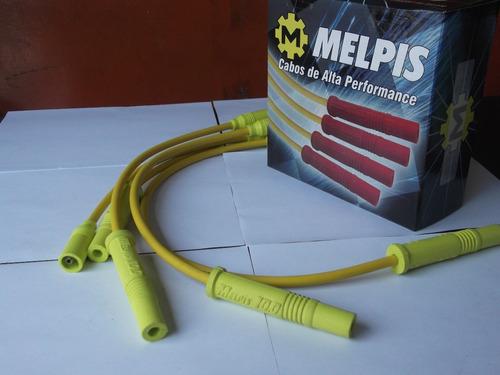 Cabo De Vela Silicone 10mm Passat/variant 2.0 (amarelo) Original