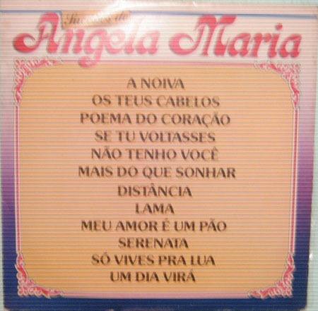 Angela Maria - Sucessos De Angela Maria - 1975/1986 Original