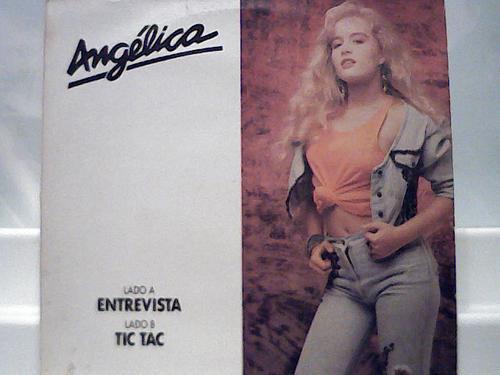 Angelica Entrevista Progrma De Radio Tic Tac Lp Cbs 1989 Original