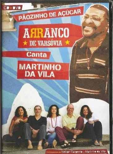 Cd + Dvd Arranco De Varsóvia Canta Martinho Da Vila Lacrado! Original