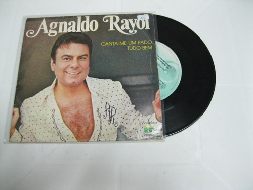 Compacto: Agnaldo Rayol Canta-me Um Fado Tudo Bem Original