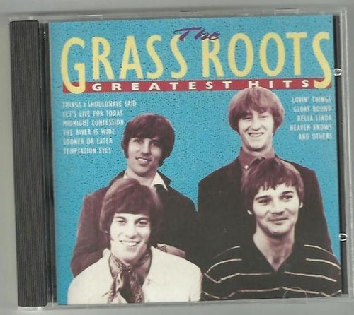 Cd Rock Garage Pop Anos 60 Grass Roots Raro Original