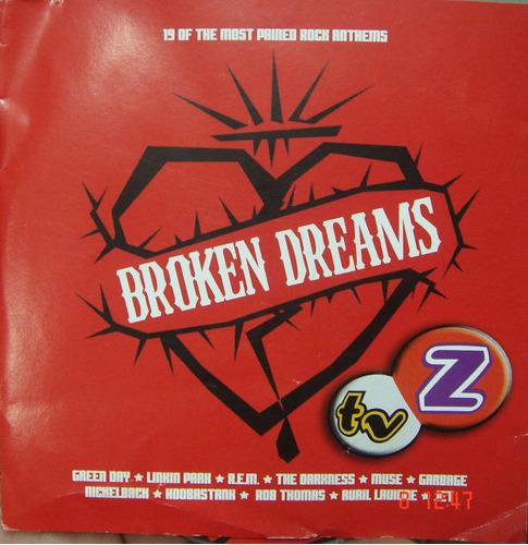 Cd Broken Dreams Greenday Rem Linkin Park Novo  Lacrado B193 Original