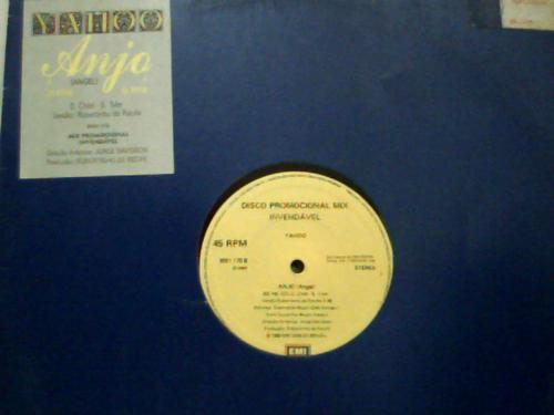 Yahoo Anjo Angel Lp Vinil Disco Single Ou Mix Emi-odeon 1989 Original