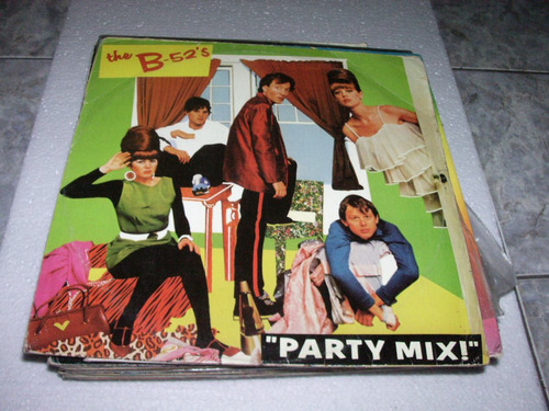 Lp The B52¨s-party Mix-1984 Original