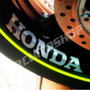 Adesivo Roda Moto Honda Hornet Cb Gsx Diversas Frete Gratis