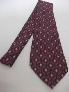 B.antigo-gravata Em Seda Natural Francesa Boutique De Montís Original