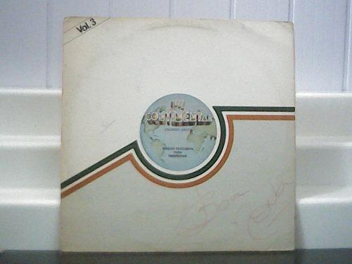Continental 3 Edição Exclusiva Tom Zé Olívia Célia Lp 1978 Original
