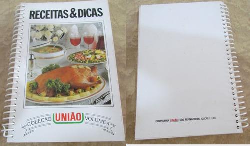 Livro De Receitas & Dicas Coleção União - Volume 4 Original