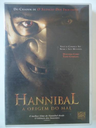 Dvd  ` Hannibal A Origem Do Mal ´ Original