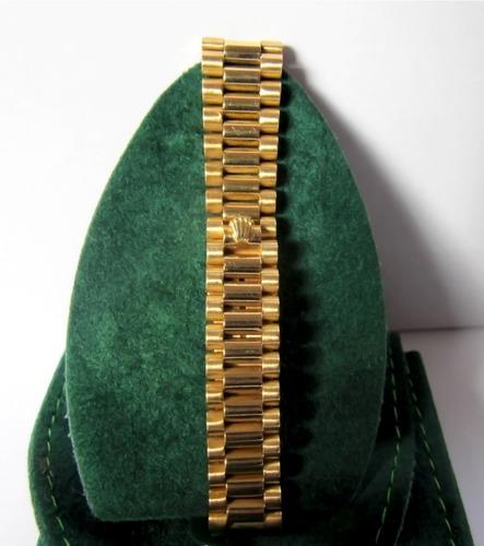 63a57a7c197 Comprar Relógio Rolex Feminino Ouro 18k Puls. Presidente Automático ...