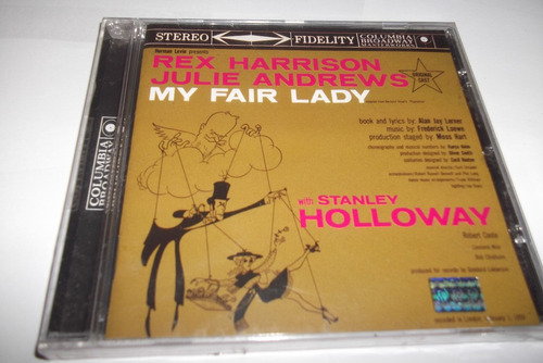 Cd - My Fair Lady - London  Cast - 1958 - Lacrado Original