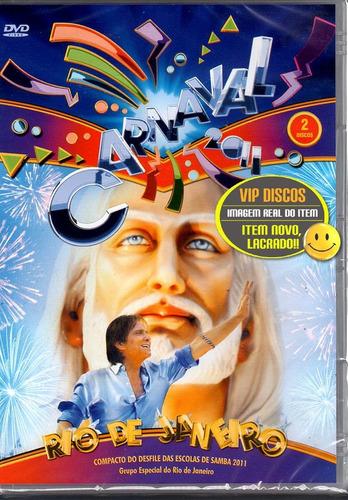 Dvd Carnaval 2011 Duplo Com Roberto Carlos  Lacrado! Original