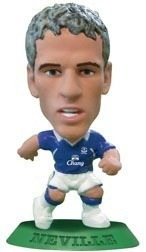 Mini Craque Soccerstarz Neville 18 Everton Original