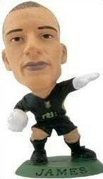 Mini Craque Soccerstarz James 1 Aston Villa Original