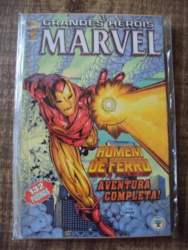 Homem De Ferro - Grandes Heróis Marvel # 05 Original