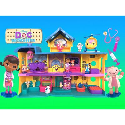 Hospital Doutora Brinquedos Doc Mcstuffins Disney