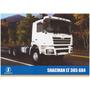Catálogo / Pôster Caminhão Shacman Lt 385 6x4 / Linha 2014