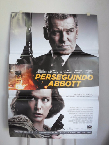 Poster Perseguindo Abbott -  64 X 94 Original