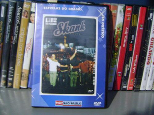 Dvd Skank Ouro Preto Ao Vivo Coleçao Dsp Estrelas Do Brasil Original
