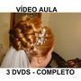 Cabeleireiro, Penteados Profissionais 3 Dvds! Completo R7z