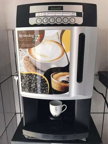 Máquina De Café Expresso Grãos + 6 Bebidas C/ Videos Rhea Xx