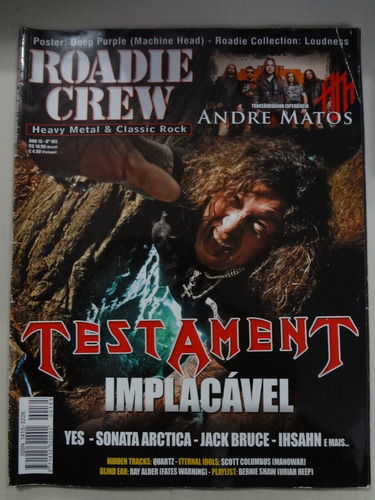 Revista Roadie Crew  N° 165 Original