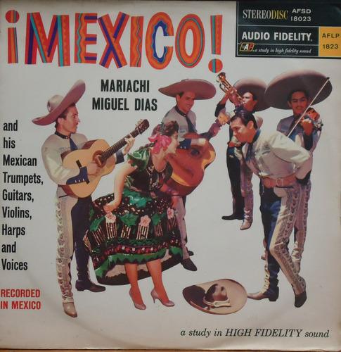 Lp (802) México - Miguel Dias - México! Original