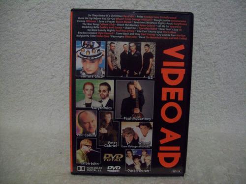 Dvd  Video Aid- U2, Duran Duran, Peter Gabriel Original