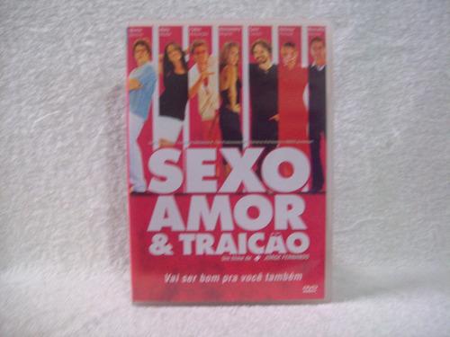 Dvd  Sexo, Amor & Traição Original