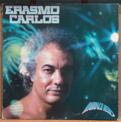 Lp (238) Vinil - Nacional - Erasmo Carlos - Buraco Negro Original