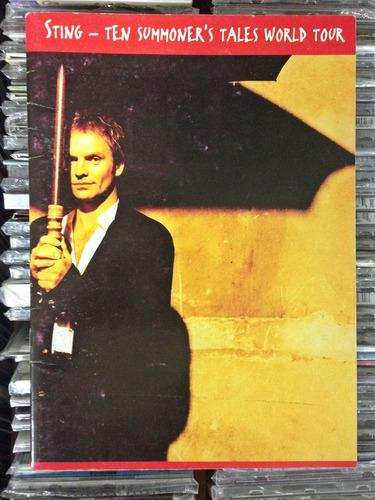 Tourbook Sting Ten Summoner