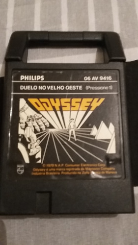 Video Game Antigo Cartucho  Odyssey Velho Oeste Original