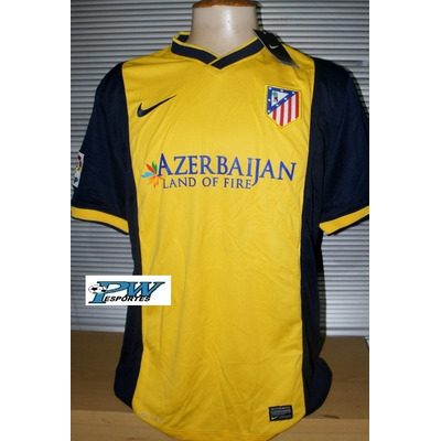 Camisa Do Atl Tico Madri Amarela 9 David Villa R 149