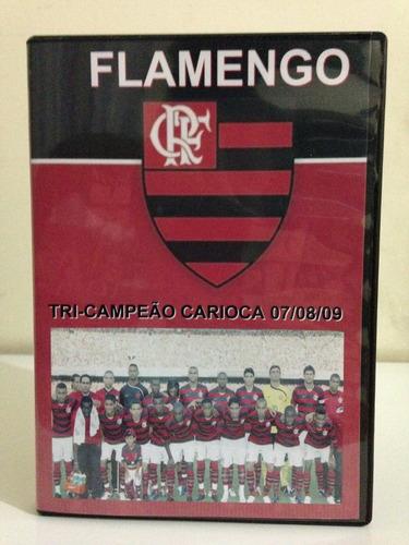 Flamengo Tri-campeão Carioca 07/08/09 - 3 Dvds