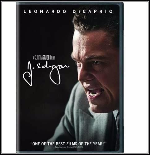 Dvd - J. Edgar - Lacrado Original