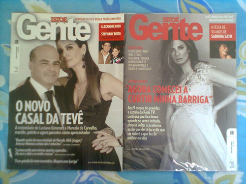 *jl 2 Revistas Isto É Gente N.555 E N.596 Luciana Gimenez* Original