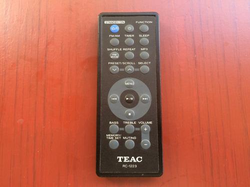 Controle Remoto Teac Mod.rc-1223