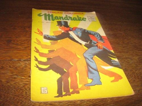Mandrake Magazine Nº 140  Ano:1968 Rio Gráfica Editora Original