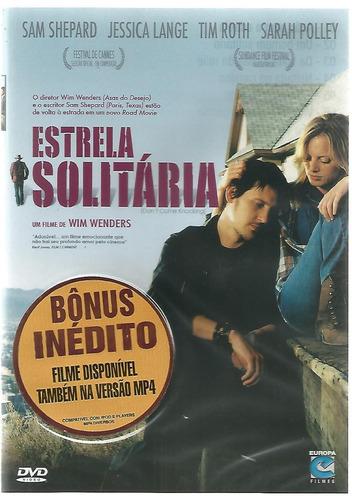 Dvd Estrela Solitária - Tim Roth - Wim Wenders - Lacrado Original