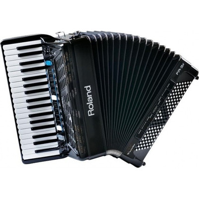 Acordeon Roland Fr3x Bk Midi Na Cheiro De Música Loja Física em Niterói