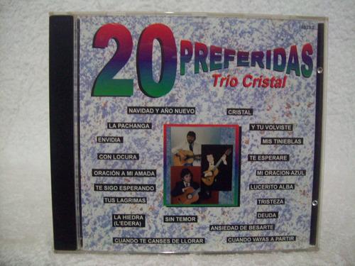 Cd  Trio Cristal- 20 Preferidas Original