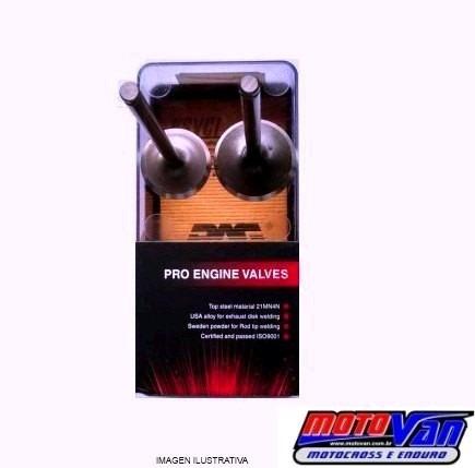 Valvula Admissao + Escape Xr250 / Cbx 250 - Pag Original