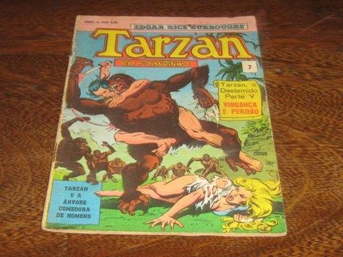 Tarzan Formatinho Nº 7  Dezembro/1976 Editora Ebal Original