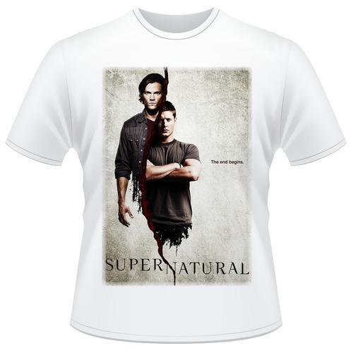 Camiseta Supernatural - Dean E Sam Winchester