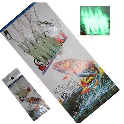 Comprar 10 Isca Artificial Sabiki Fluorescente Camar 227 O Frete 10 00 Apenas R 10 00 Aprender