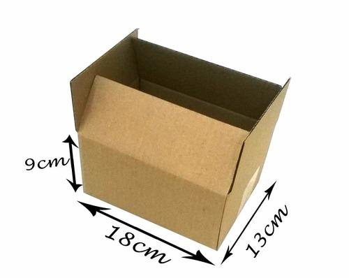 50 Caixas Papelão Loja De Fabrica  Correios  Sedex 18x13x09