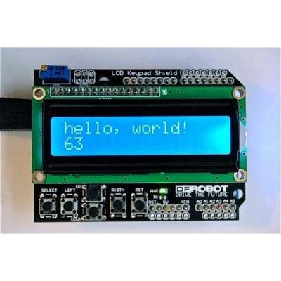 Display Lcd Keypad 16x2 P/ Arduino Uno E Mega Pronta Entrega